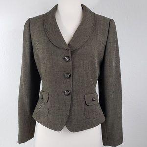 Tahari Arthur S. Levine Single Breasted Jacket 6P